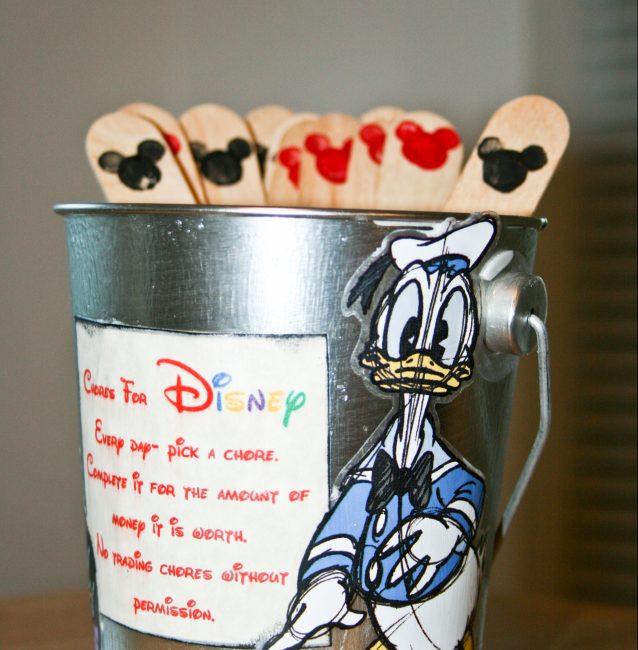 Disney Chore Bucket