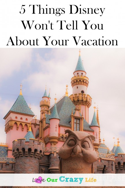Disney is keeping some secrets. We have 5 things Disney won't tell you about your vacation