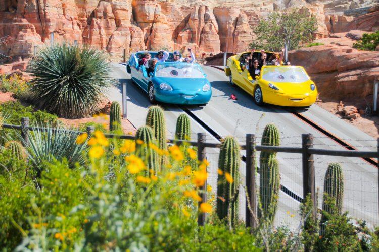 days at Disneyland for Radiator SPrings Racers