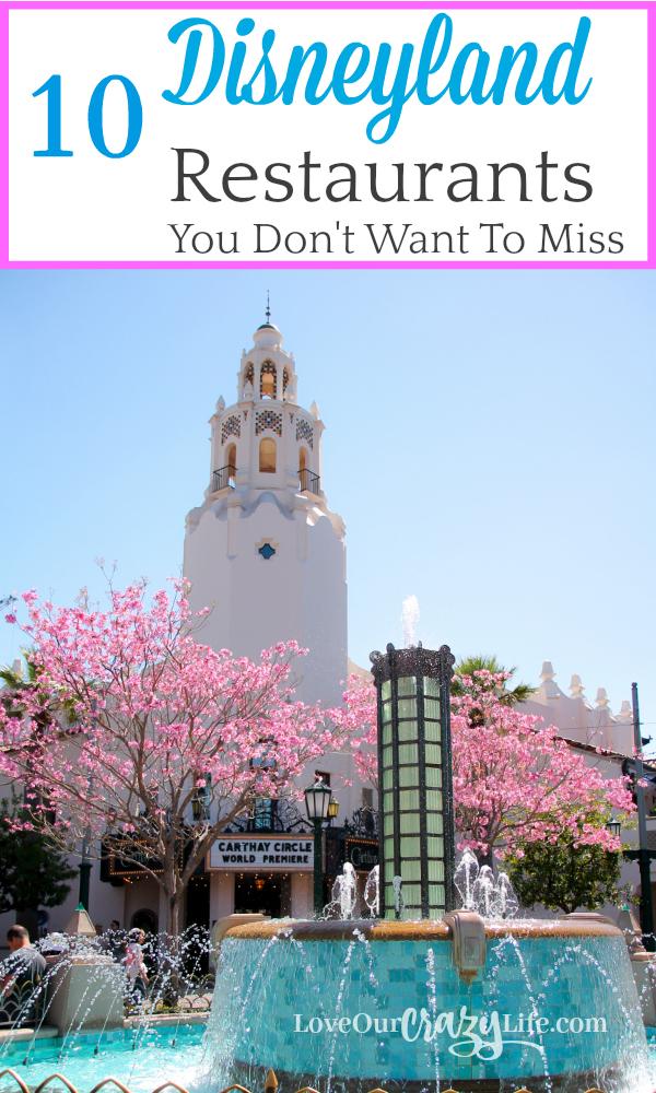 Dining at Disneyland Resort can be an experience all its own. Feeling overwhelmed with all the choices? Check out these 10 Disneyland (and California adventure) restaurants you won't want to miss.  Disney   California   Dining   Restaurants   Travel   Travel With Kids