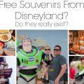 Free Disneyland Souvenirs