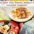 DIsney Souvenir Buttons
