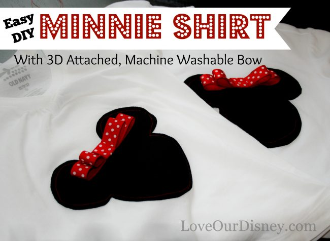 DIY Minnie Shirts
