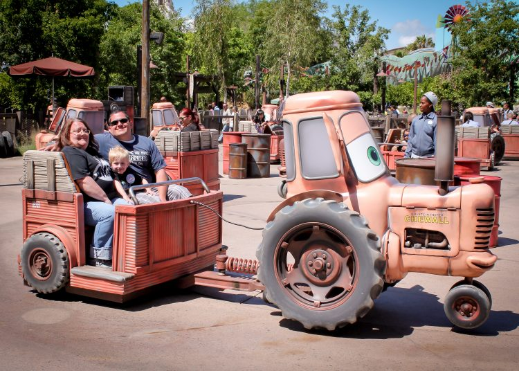 Disneyland Height Requirements Maters Junkyard Jamboree