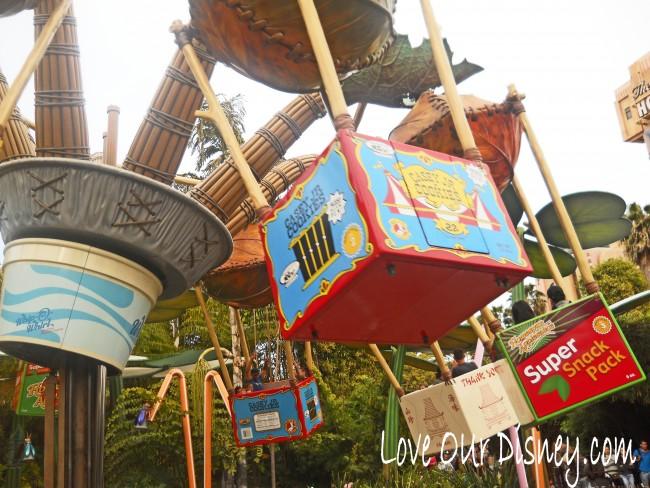 Flik's Flyers in Disney California Adventure