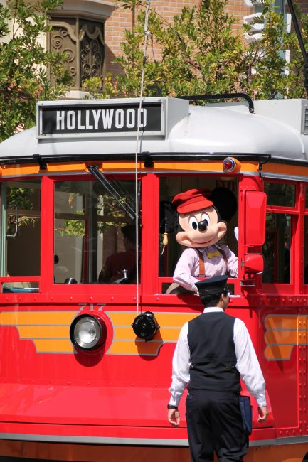 Disney California Adventure Entertainment