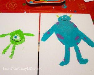 Get creative with a Disney Side art party