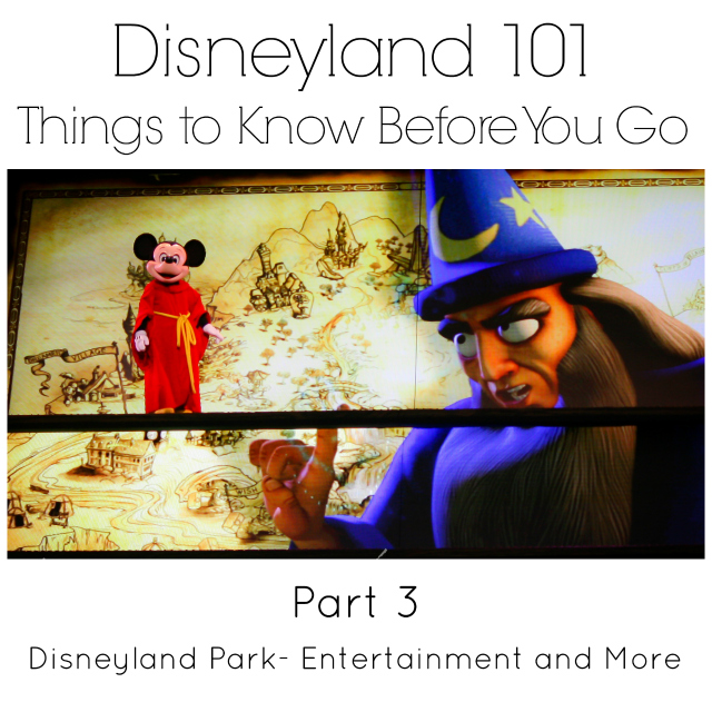 Disneyland Entertainment and Magical Extras