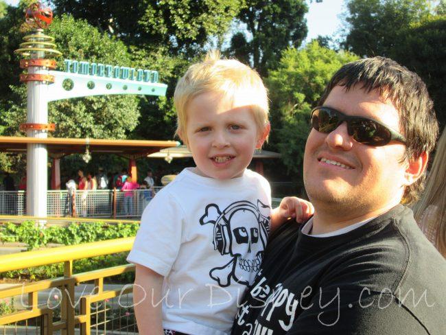 Tomorrowland in Disneyland