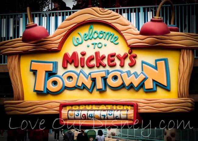 ToonTown in Disneyland Planning Guide