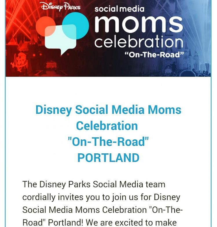 Disney Social Media Moms Celebration is heading to Portland!