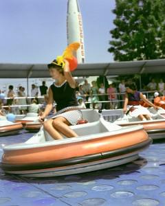 Disneyland 1961 Flying Saucers Open