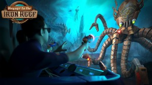 Voyage to the Iron Reef is new this summer at Knott's