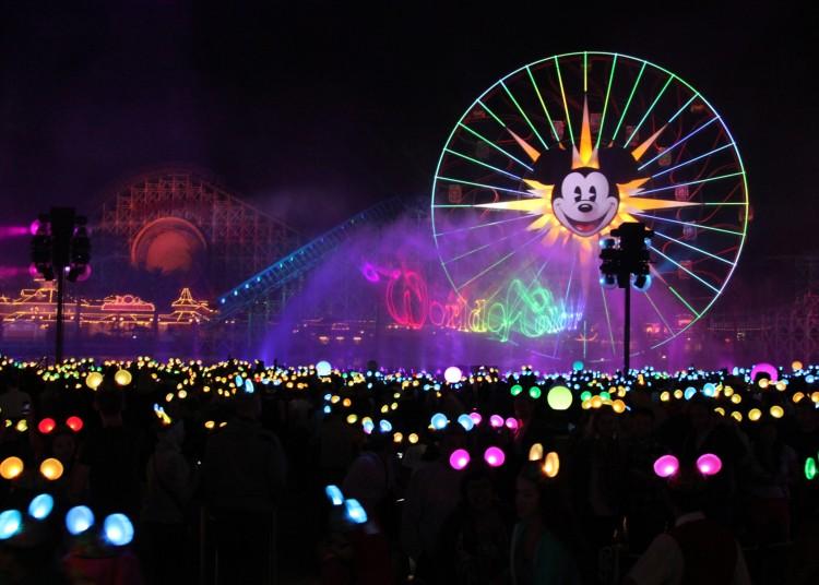 'WORLD OF COLOR Ð CELEBRATE!' Photo DisneylandNews.com