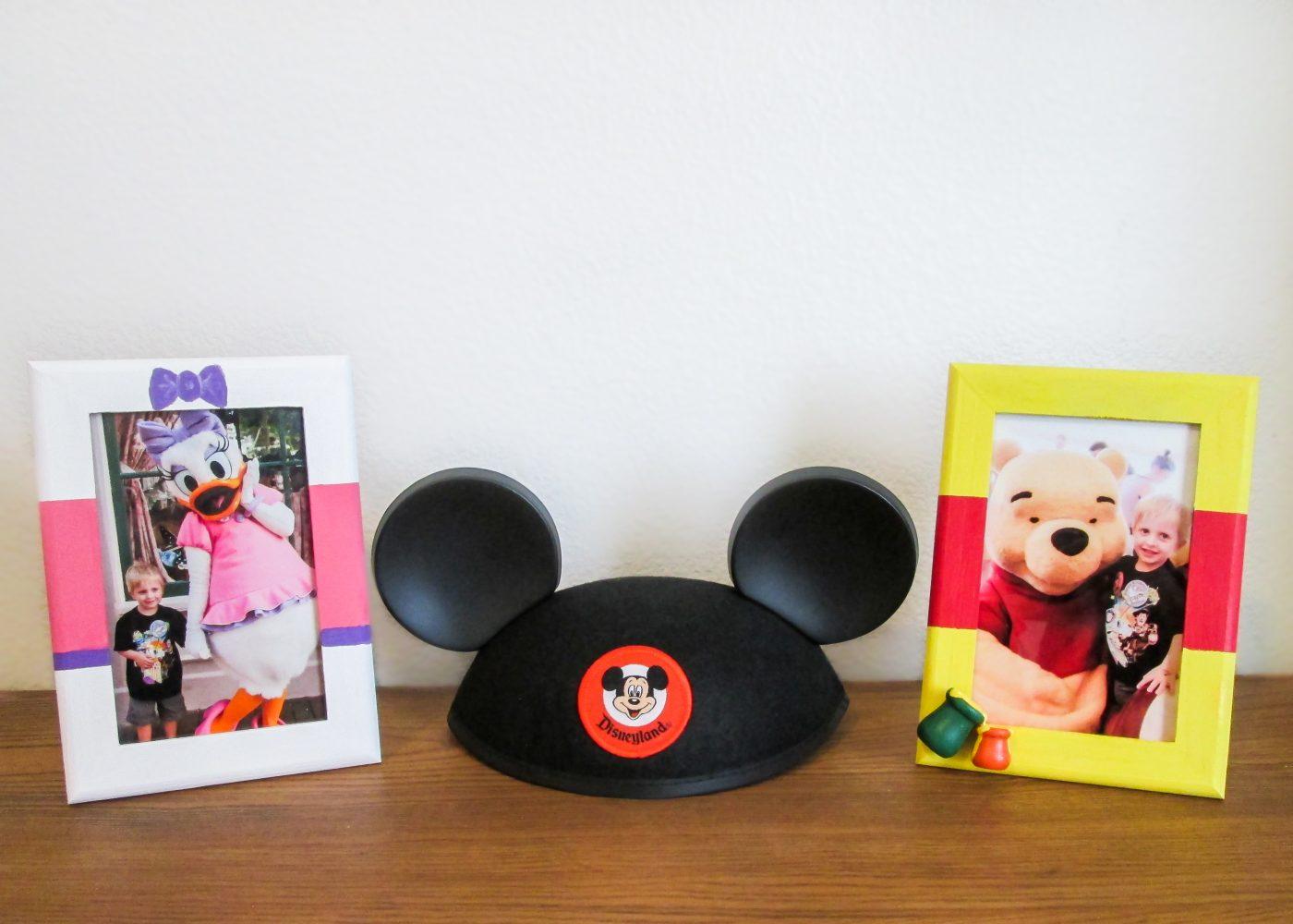 Easy DIY Disney Character Frames