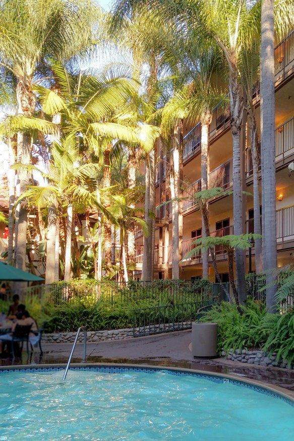 The pool at the Radisson Suites in Buena Park is gorgeous but is it enjoyable?