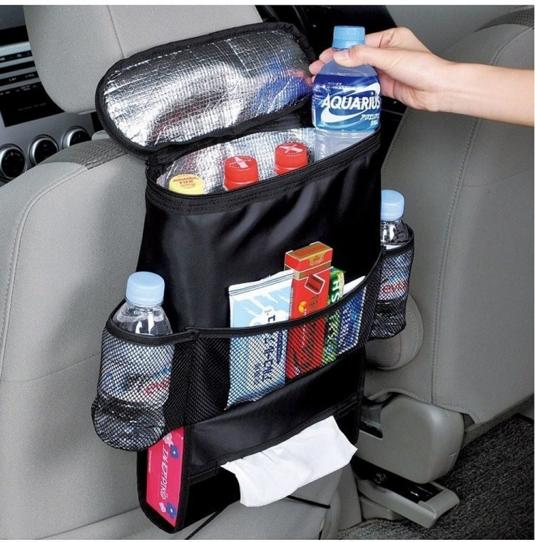 Car organizers- just one of ten things that make road trips with kids easier