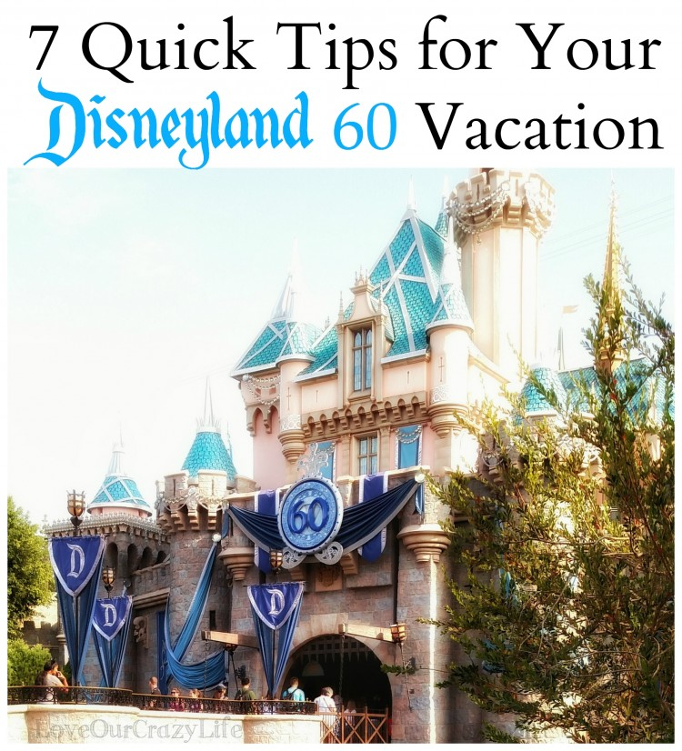 7 Quick Tips for Disneyland's 60th Anniversary event