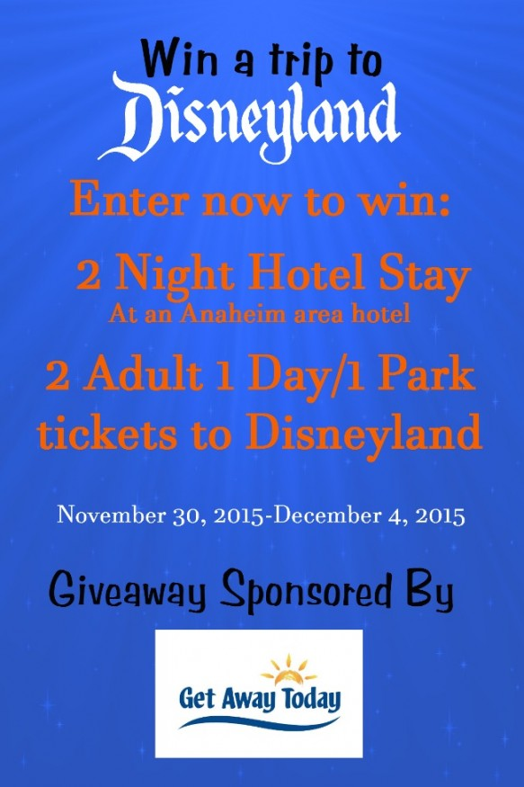 Disneyland giveaways