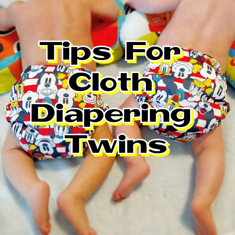 Cloth Diapering Twins (Tips, Review & Giveaway)