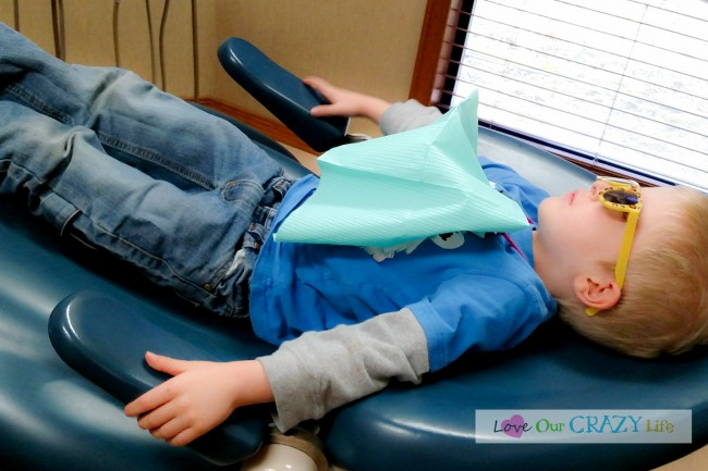 Dental Care and Kids- How we got past the crying
