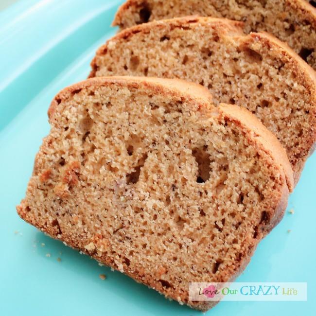 The BEST Peanut Butter Banana Bread Recipe