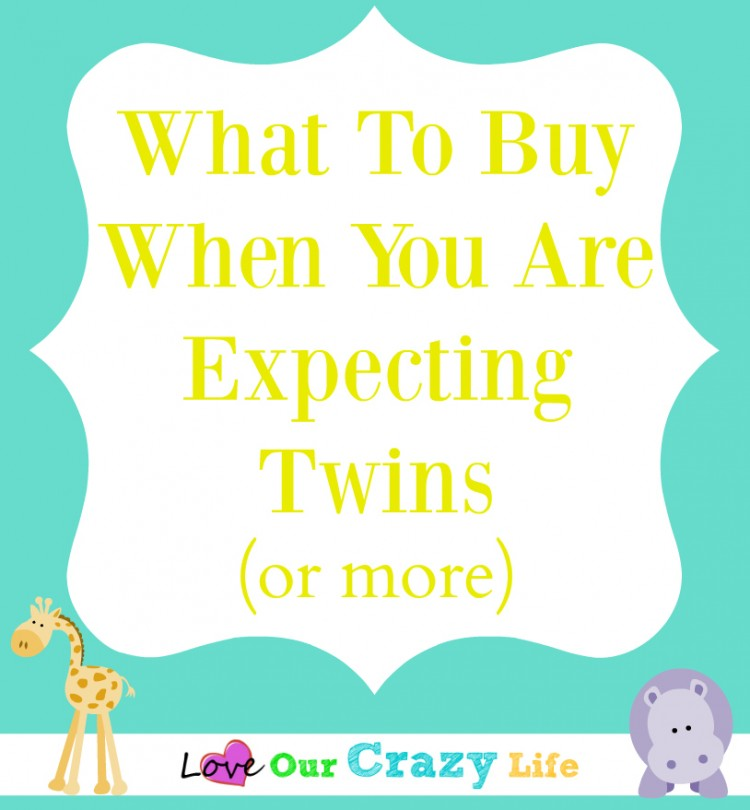 What to buy when you are expecting twins