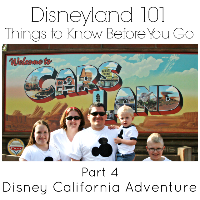 Disneyland 101 Part 4 covers Disney California Adventure