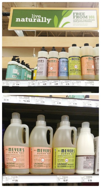 Mrs Meyers Clean Day Products Help Create an inviting home.