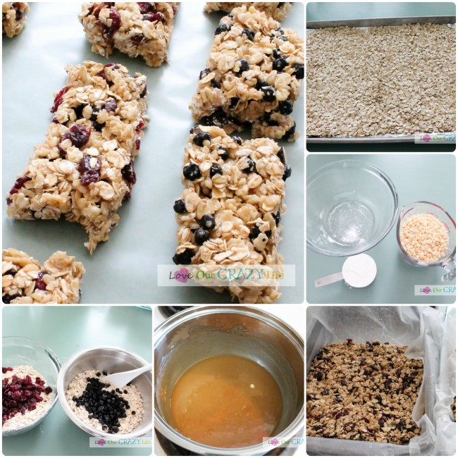 Easy No-Bake Granola Bar Recipe! So good!