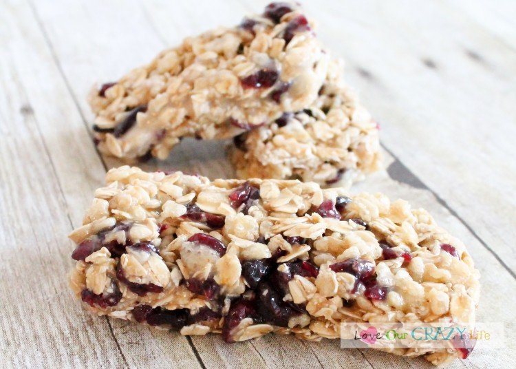 No Bake Granola Bar Recipe! So Good and can tailor to your taste