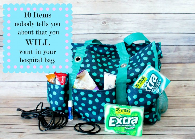 10 items nobody tells you that you WILL want in your hospital bag