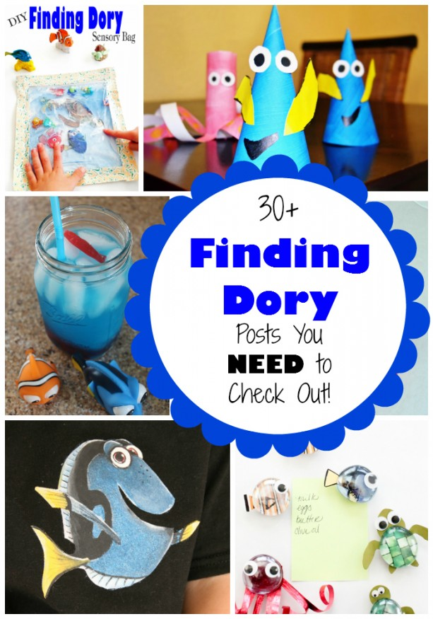 Finding Dory Crafts and Recipes