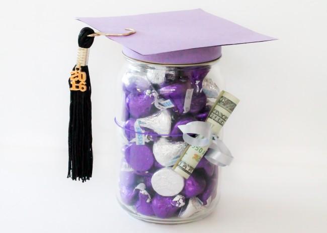 Mason Jar Graduation Gift