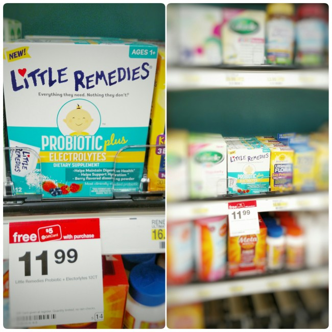 Little Remedies Probiotic Plus Electrolytes