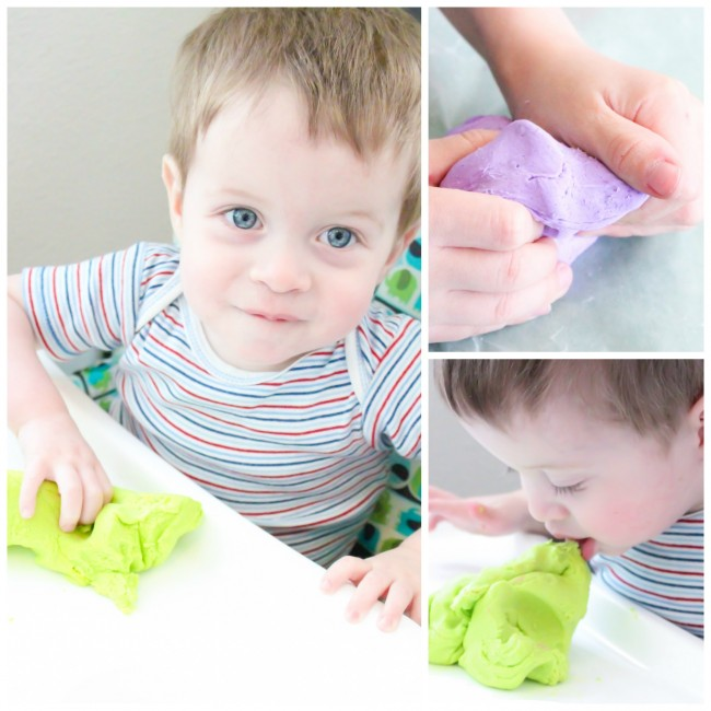 Edible Play Dough that tastes good