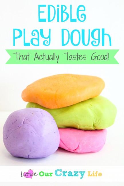 Edible Play Dough (That Actually Tastes Good!)