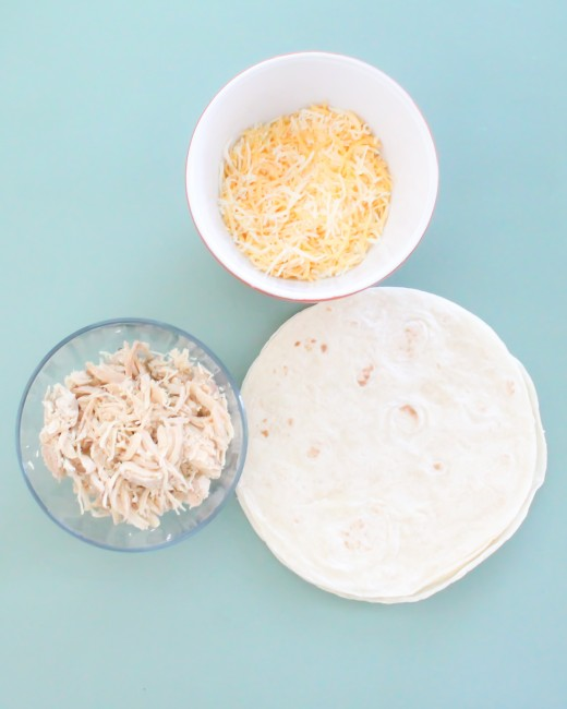 Teaching Kids To Cook with a simple Chicken Quesadilla recipe