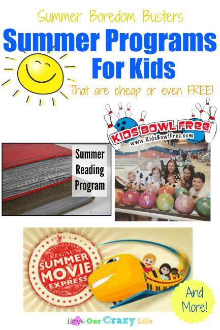 Summer Programs for Kids (To Bust Summer Boredom)