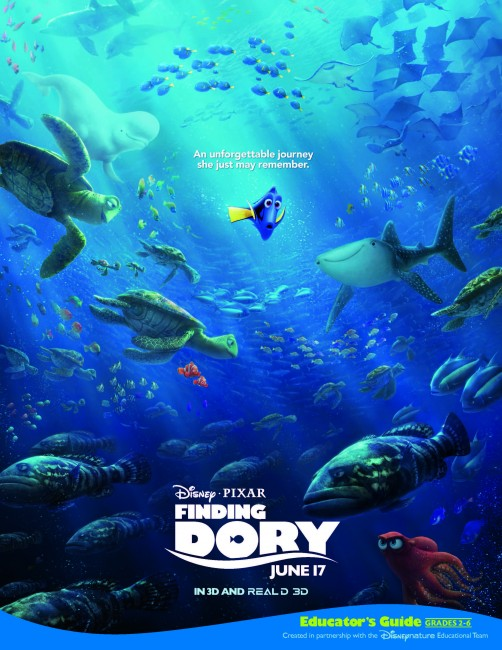 Finding Dory Teachers Guide and activities
