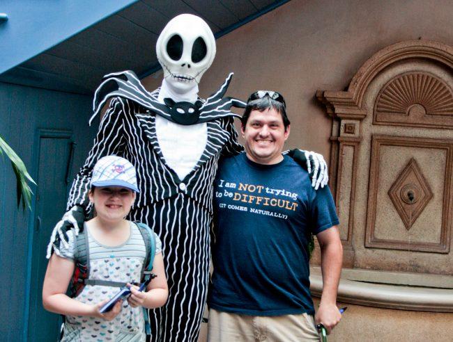 Visit Disneyland during the fall