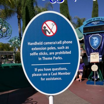 Items banned at Disney