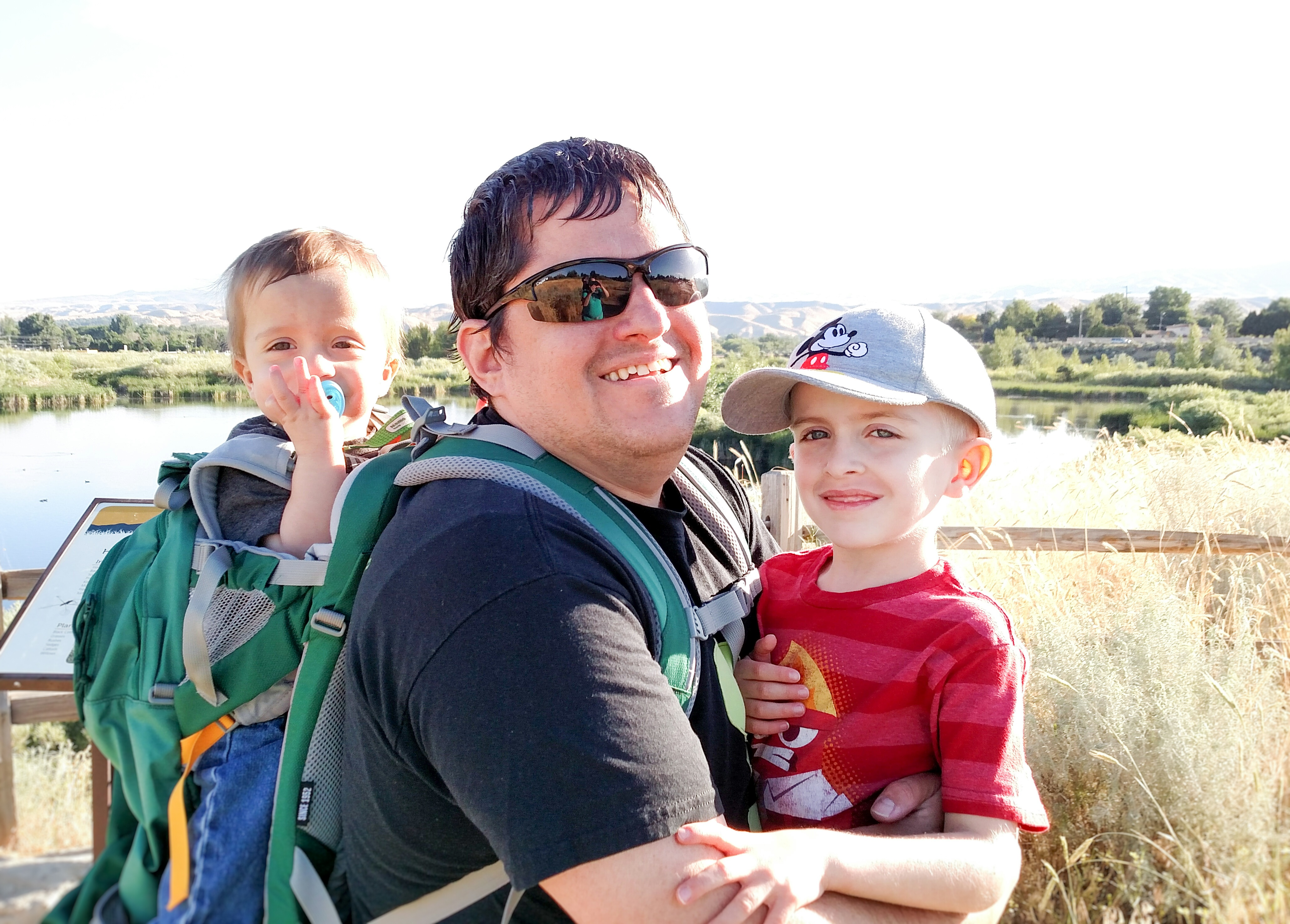 Tips for Hiking With Baby- Carriers