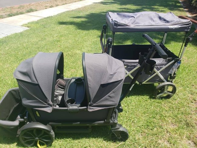 Disney bans Keenz strollers