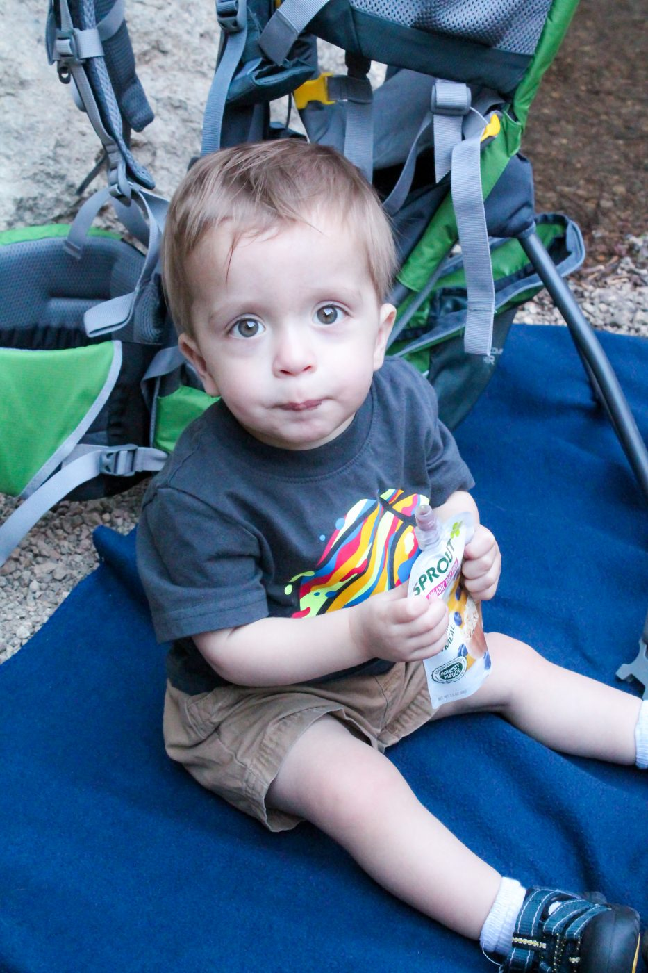 Hiking with babies- Snacks to bring