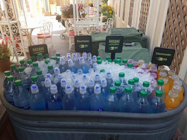 never buy at Disneyland- bottled water