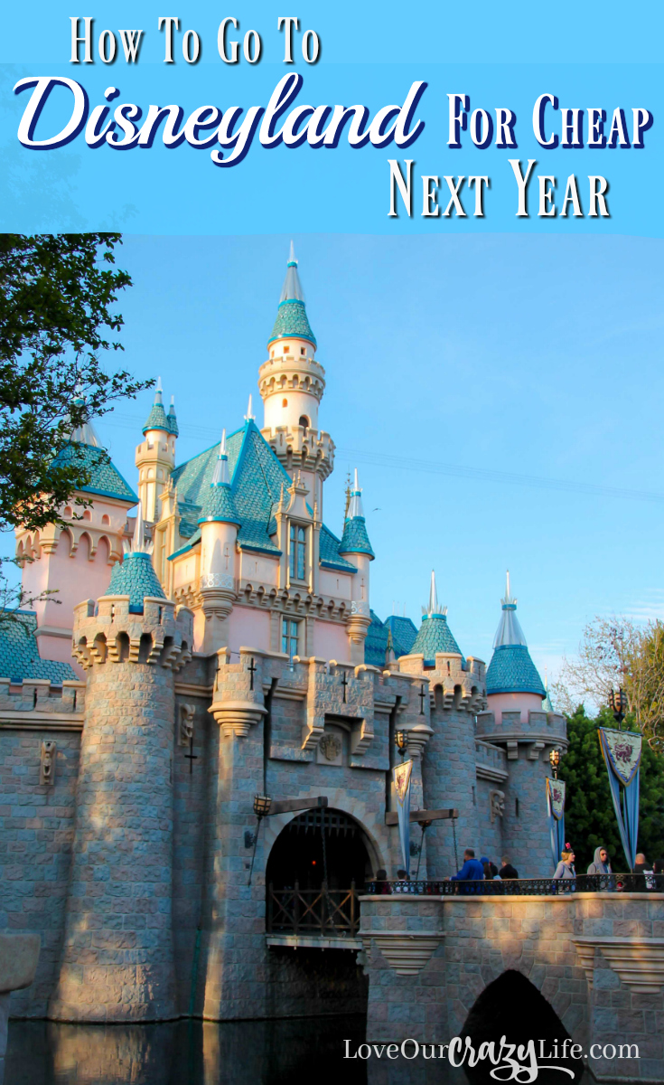 If you start planning now, you go to Disneyland next year for pretty cheap. These are some great tips! . . Disneyland | Disney | Disney California Adventure | Vacation | Travel | Travel with Kids | California | Theme Parks | Southern California | Family Vacation