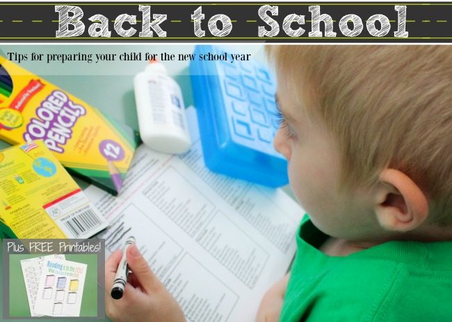 Tips for preparing kids to get back into school mode