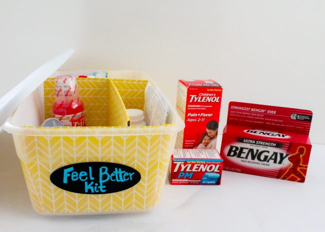 Feel Better Kit- Medicine organization