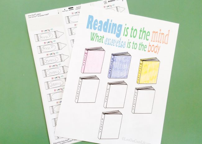 Back into school mode free printables